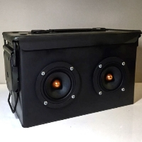 Boom Box Boom Suit Case Special Ops Ammo Can Speaker Traincase Rechargeable Bluetooth Suitcase