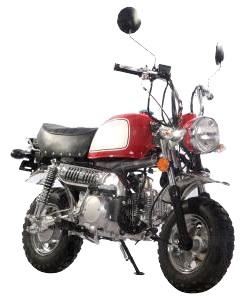 125cc Mini Street Legal Motor Bike
