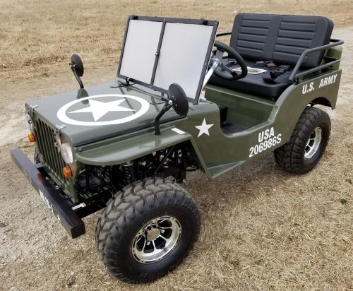 Mini Gas Golf Cart Custom Plus 125cc Mini Jeep Vehicle Mini Truck