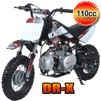 Scrub 110cc Dirt Bike 4 Speed Semi Automatic Pit Bike - SCRUB (PAD110-1)