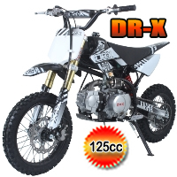 Roost USD 125cc Dirt Bike 4 Speed Manual Kick Start Pit Bike - ROOST USD(PAD125-1D)