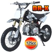 Roost USD 125cc Dirt Bike 4 Speed Manual Kick Start Pit Bike - ROOST USD(PAD125-1D)