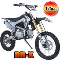 DR-X Whip 125cc Dirt Bike 4 Speed Manual Pit Bike - WHIP (PAD125-3)