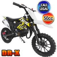 DR-X Holeshot-X 50cc Dirt Bike Fully Automatic Pit Bike - HOLESHOT-X (PAD50-2)