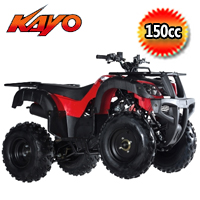 Kayo Bull 150cc Semi Automatic Utility ATV 4 Wheeler - PAK150-3