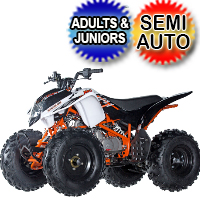 Storm 150 ATV 150cc Junior Adult 3 Speed Semi Auto With Reverse Quad Four Wheeler - PAK150-2