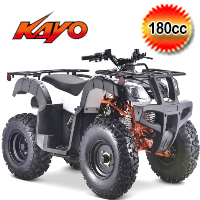 """Kayo Bull 180cc ATV Fully Auto w/Reverse & 10"""" Wheels - BULL 180 (PAK180-3)"""