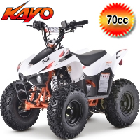 Kayo Fox 70cc Fully Automatic Sport ATV 4 Wheeler - PAK70-1