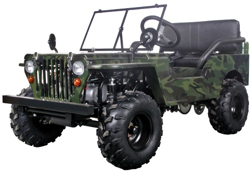 Gas Golf Cart - Mini Truck With Lights Mirrors & Seat Belts 125cc Golf Carts Jeeps That Look Like on garden tractors that look like jeeps, trucks that look like jeeps, cars that look like jeeps, suvs that look like jeeps,
