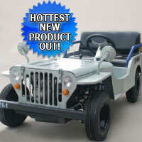Brand New 125cc Jeep Off-Road Vehicle