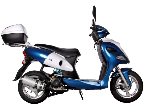 Brand New 50cc PMZ50-12 Air Cooled 4 Stroke Moped Scooter