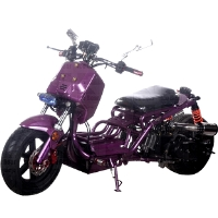 50cc Single Cylinder Four Stroke Maddog X Street Bike
