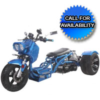 50cc Sunshine Air Cooled Automatic Trike Moped Scooter
