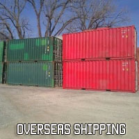 20' Used Cargo Shipping Storage Container