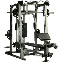 Brand New Gold's Gym Platinum Home Gym Includes Smith Machine Bench & Rack