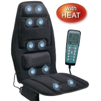Seat Cushion Cover Back Massager with Heating