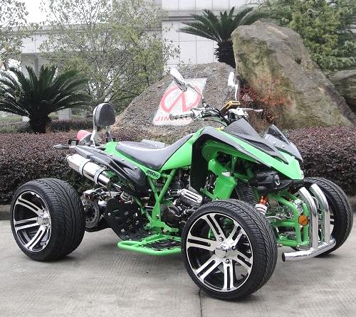 250cc four wheeler atv 4 speed manual with reverse racing. Black Bedroom Furniture Sets. Home Design Ideas