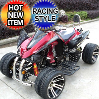 250cc Four Wheeler ATV 4 Speed Manual With Reverse Racing ATV - JEA-21A-09-12-250