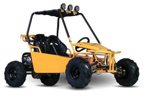 125cc Go Kart Automatic w/Reverse & Electric Start - KD 125GKM