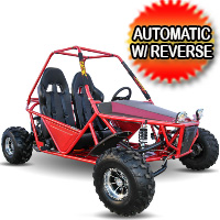 200cc Go Kart Automatic With Reverse - KD 200GKM