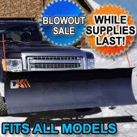 Fits All Models - Brand New DK2 Electric Snow Plow