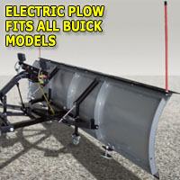 "Brand New 84"" Storm Electric Snow Plow - Fits All Buick Models"