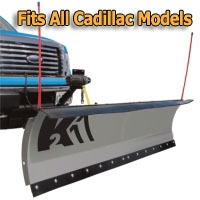 "Brand New 84"" Storm Electric Snow Plow - Fits All Cadillac Models"