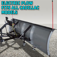"Brand New 88"" K2 Summit Electric Snow Plow - Fits All Cadillac Models"