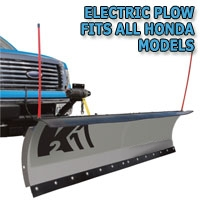 "Brand New 84"" Storm Electric Snow Plow - Fits All Honda Models"