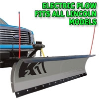"Brand New 84"" Storm Electric Plow- Fits All Lincoln Models"