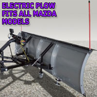 "Brand New 84"" Storm Electric Snow Plow - Fits All Mazda Models"