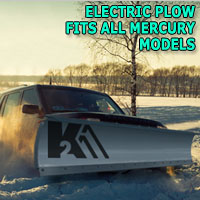 "Brand New 84"" Storm Electric Plow- Fits All Mercury Models"