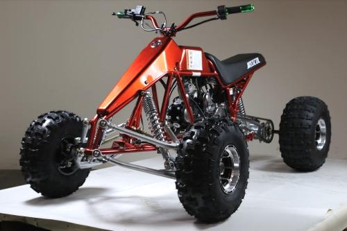 125cc Dragster Quad Atv Four Wheeler 3 Speed W/Reverse