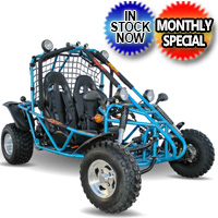 200 Go Kart 168cc Full Auto With Reverse W/Custom Rims/Tires Model 200GKA