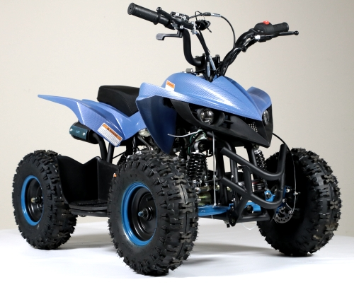 50cc Gas Atv Sport Quad With Electric Start & Throttle Limiter W/ 58cc  Motor - Model 6B PLUS