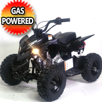 50cc Gas Sport Atv Quad With Electric Start & Throttle Limiter W/ 58cc Motor - Model 6B