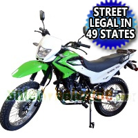 229cc Enduro Dirt Bike 5 Speed Manual w/ Electric/Kick Start - Nduro Bike 18B