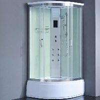"Corner Steam Shower Enclosure 36"" x 36"" - 8002-AS Pure"