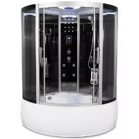 "Corner Steam Shower Enclosure & Whirlpool Tub 48"" x 48"" - Y8008"