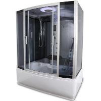 Rectangle Steam Shower and Bathtub Enclosure - Y9001