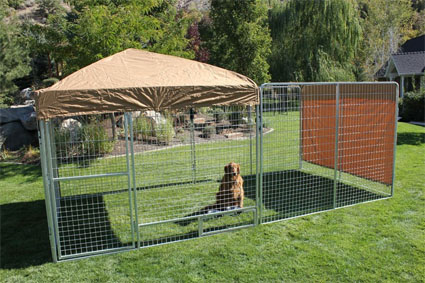 The multiple welded wire kennel is ideal for breeders or owners with multiple dogs. These kennels are manufactured to be safe a secure enough for use in a ... & 6u0027 x 12u0027 x 6u0027 Ultimate Modular Welded Wire Professional Kennel Dog ...