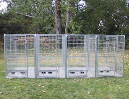 How To Put Together Wire Dog Kennel