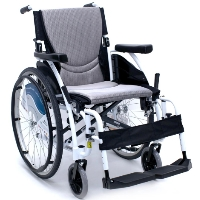 "Karman S-ERGO Alpine White 18"" x 17"" Ultralight Ergonomic Wheelchair"