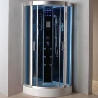 "Corner Shower Room Enclosure with Hydro Massage Jets 36"" x 36"""
