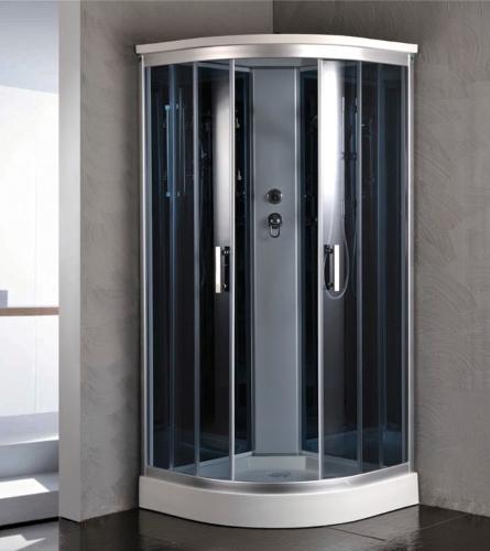 Corner Shower Room Enclosure With Rainfall Head 36 X
