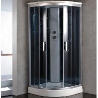 "Corner Shower Room Enclosure with Rainfall Shower Head 36"" x 36"""