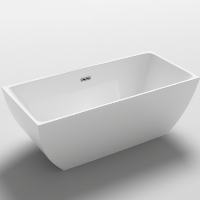 Freestanding Bathtub Modern Seamless Acrylic Bathtub - Brenta