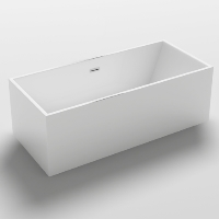 Freestanding Bathtub Modern Seamless Acrylic Bathtub - Burano