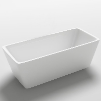 Freestanding Bathtub Modern Seamless Acrylic Bathtub - Garda 67""