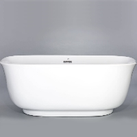 Freestanding Bathtub Modern Seamless Acrylic Bath Tub